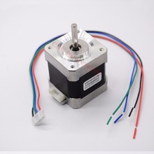 Free shipping 3 PCS 4-lead Nema 17 Stepper Motor 42 motor 17HS8401 1.8A CE CNC Laser and 3D printer
