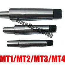 1 шт. Уменьшение Дрель рукава MT1/MT2/MT3/MT4 конус оправка для сверлильного патрона токарный станок для Ёмкость 0,6-6/1-10/1-13/3-16/5-20 мм