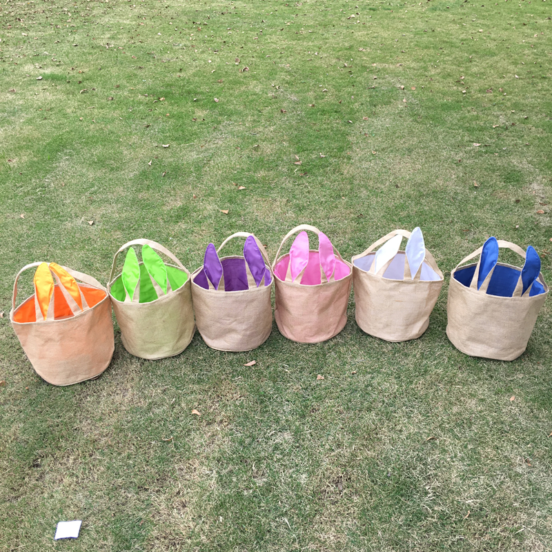Fast shipping burlap easter bucket wholesale bunny easter tote fast shipping burlap easter bucket wholesale bunny easter tote easter buckets with bunny ears easter basket domil 1010235 in totes from luggage bags on negle Choice Image