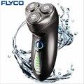FLYCO profesional Toda Máquina lavable 1 horas de recarga eléctrica FS351 máquina de afeitar para el Hombre con la barba recargable automática