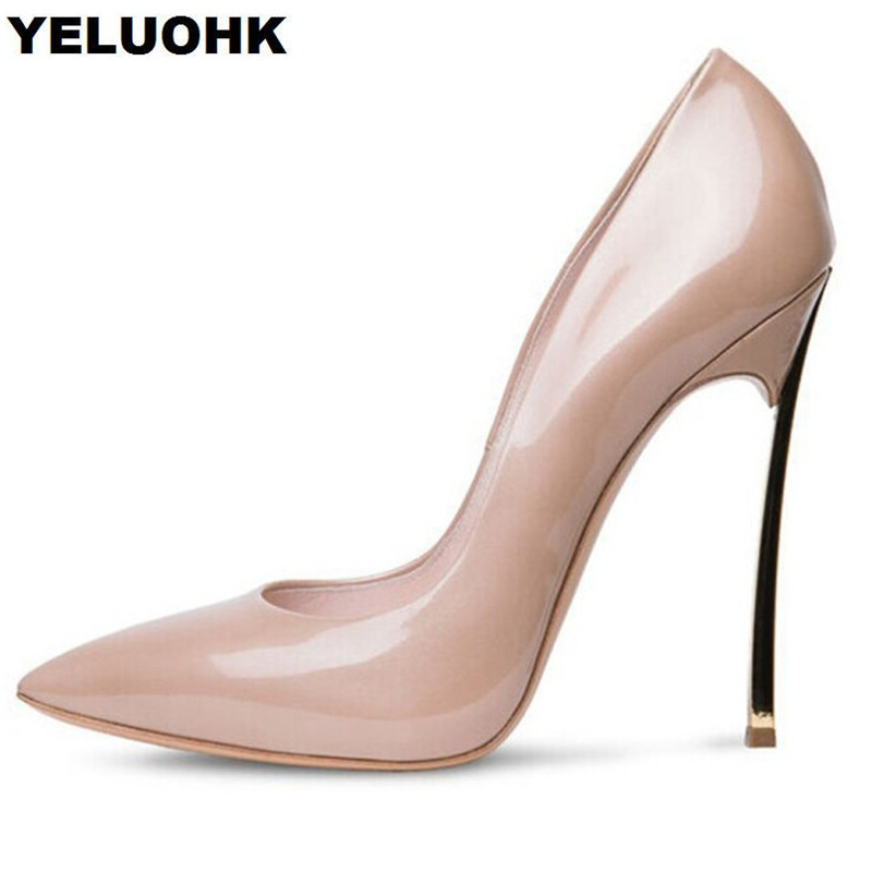 Large Size 43 Party Shoes For Women Fashion Pointed Toe Wedding Shoes Woman Pumps Sexy High Heels Ladies Shoes new spring summer women pumps fashion pointed toe high heels shoes woman party wedding ladies shoes leopard pu leather