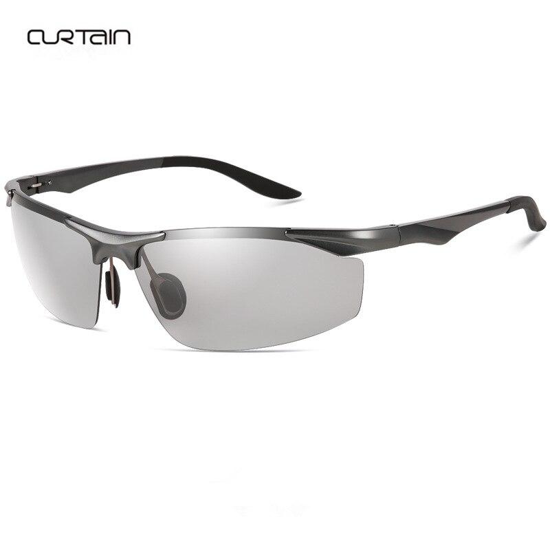 Sonnenbrille Schwarze Linsen frei, um Männer Drive Tourism Anti Glare Anti-UV Sonnenbrillen anpassen