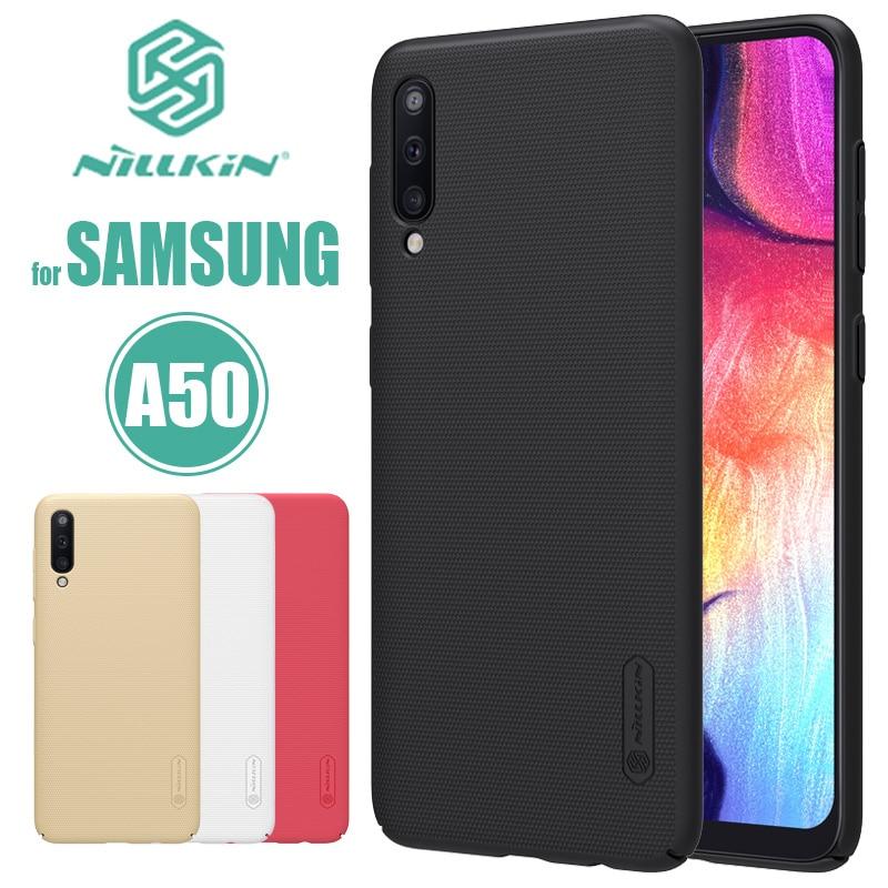 Für Samsung Galaxy A70 A60 A50 A40 A30 A10 Nillkin Super Matt Schild Harte PC Zurück Abdeckung für Samsung S8 a70 A60 A50 Telefon Fall