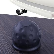 Towball-Protector-Cover-Cap Tow-Ball Caravan-Trailer Hitch 50mm CITALL Black Car-Rubber