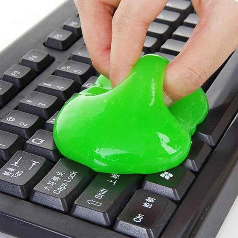 Bàn Phím máy tính Bụi Vệ Sinh Xe Keo Sáng Tạo Magic Rửa Bùn Bụi Tẩy Xe Ô Tô Tự Động Điện Thoại Vệ Sinh SlimY Gel