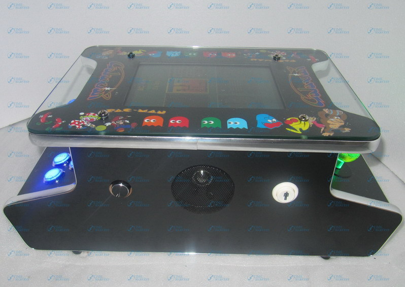 10.4 inch LCD Mini Cocktail Arcade Machine With Classical Game 412 In 1PCB/With Illuminated joystick and Illuminated button sanwa button and joystick use in video game console with multi games 520 in 1