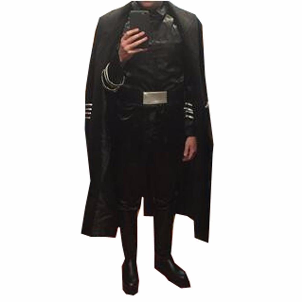 2017 Star Wars la Force réveille le général Hux Costume de Cosplay Costume complet Costume de Cosplay Halloween