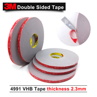 3M double sided tape/VHB 4991 acrylic adhesive tape/Outstanding durability performance/20mm*16.5m*5rolls/we can offer other size