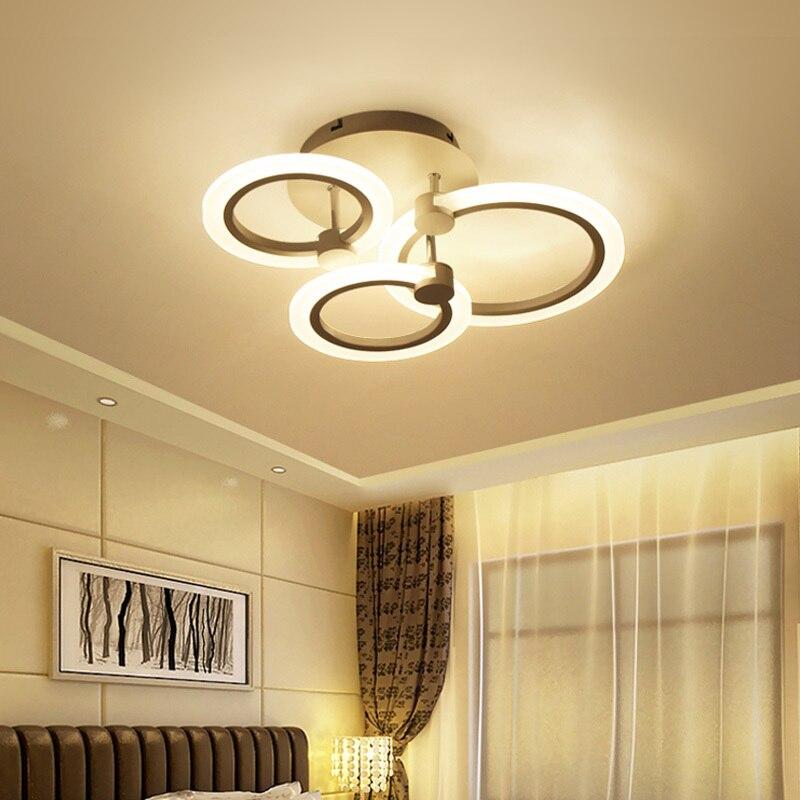 Moderne LED Decke Lichter Für Esszimmer Wohnzimmer Küche Lampe Leuchten Hause Restaurant Plafon Mit Fernbedienung Schlafzimmer Plafond