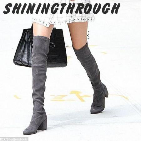 Online Get Cheap Sexy Leather Thigh High Boots -Aliexpress.com ...