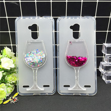 Glitter Quicksand Phone Cases for ZTE Blade V7 Lite Case Bling Cute Srtars Cup With Soft Silicon Back Cover 3D Capa Fundas смартфон zte blade v7 lite grey