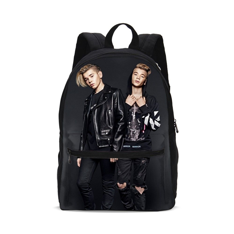 Fashion Marcus And Martinus Prints School Bag For Teenage Boys Schoolbag Brand Children Backpacks School Backpack Casual Daypack