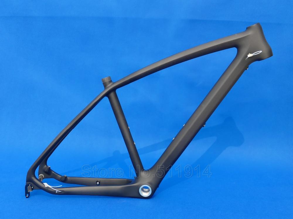Full Carbon Matt MTB Rahmen Radfahren Mountainbike Rahmen 26ER ...