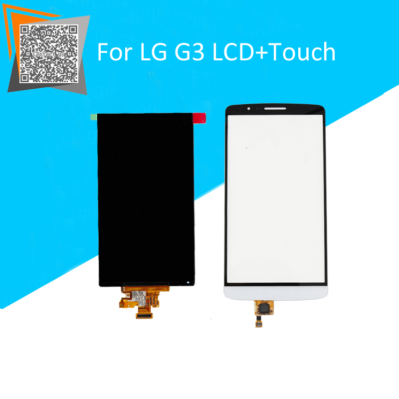 NEW Original 5.5 for LG G3 D850 D851 D855 VS985 LS990 1PCS LCD Display Panel + 1PCS Touch Screen BLACK/White/Gold with LOGO