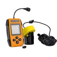 100 м/328ft глубина Рыболокаторы ЖК-дисплей Портативный Sonar Сенсор сигнализации преобразователя