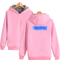 Moletom Riverdale Pink Hoodie Sweatshirt Women Men Jughead Jones Winter Thick Warm Fleece Zip Up Hooded Jacket Coat Outerwear