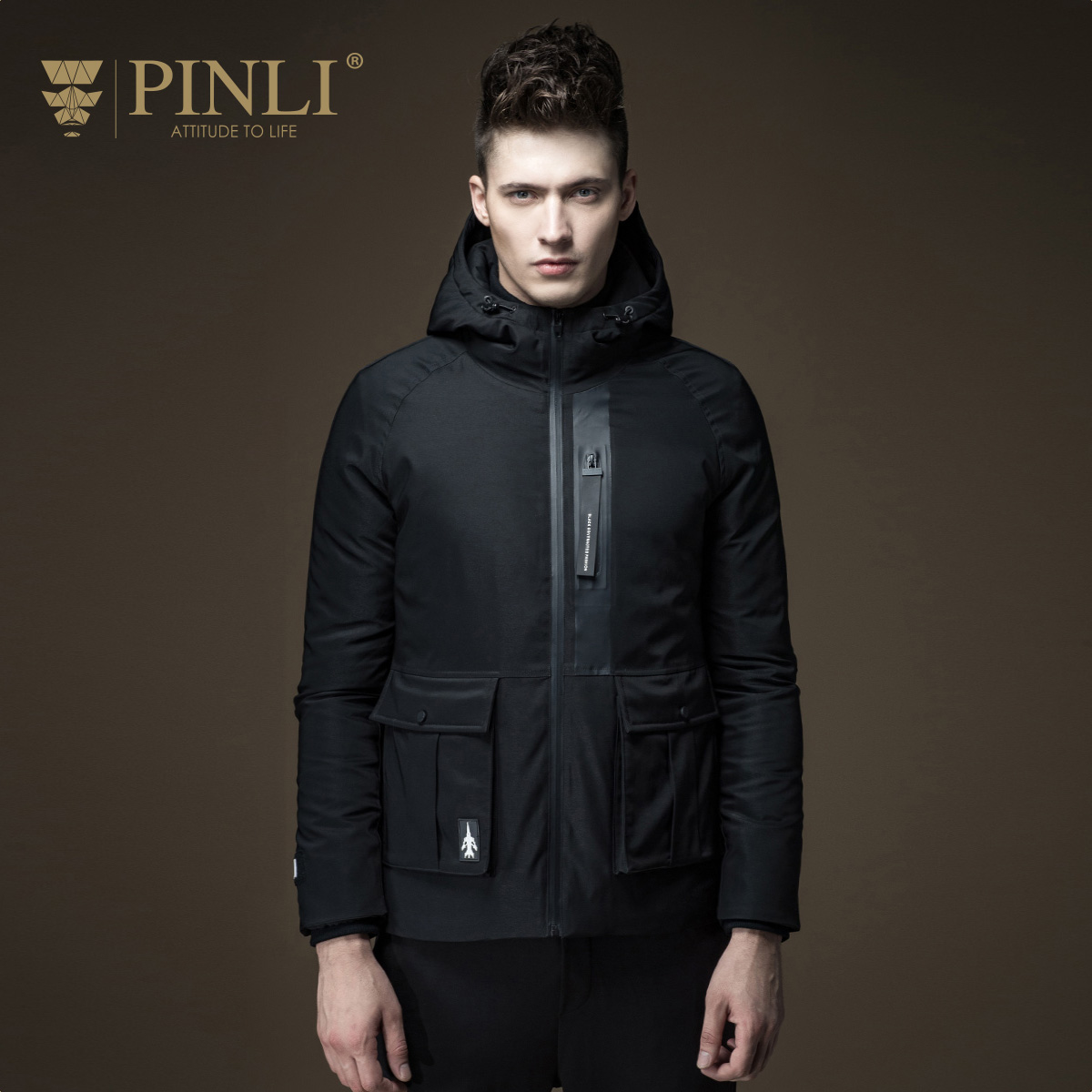 2017 Winter Jackets Mens Winter Jacket Men New Arrival Polyester Regular Stand Wadding Fashion Pinli Fall Male Warm D163608326