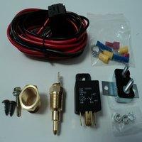 Kits de relé universal do termostato 50a do radiador do motor do sensor do interruptor de temperatura em 185 e fora em 170|Sensor de temperatura| |  -