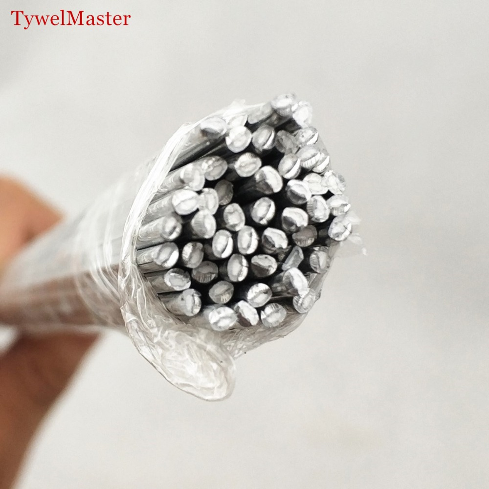 Aluminum Welding Electrodes Flux Cored Low Temperature Brazing Wire 500x2.0mm 19.68x0.079