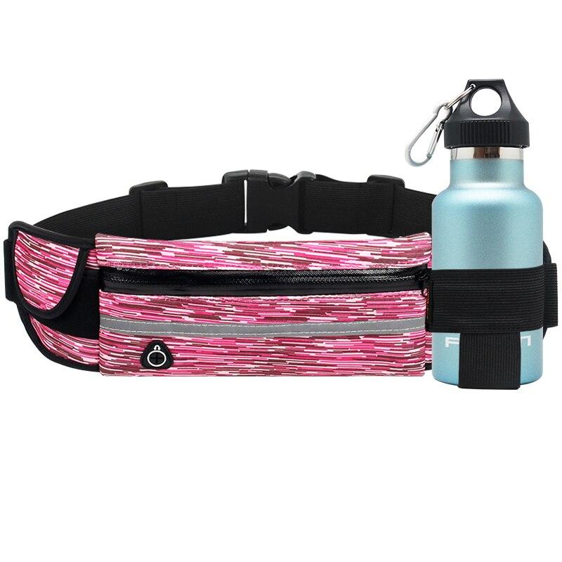 Waterproof Waist Pouch Fanny Pack Water Bottle Holder ...