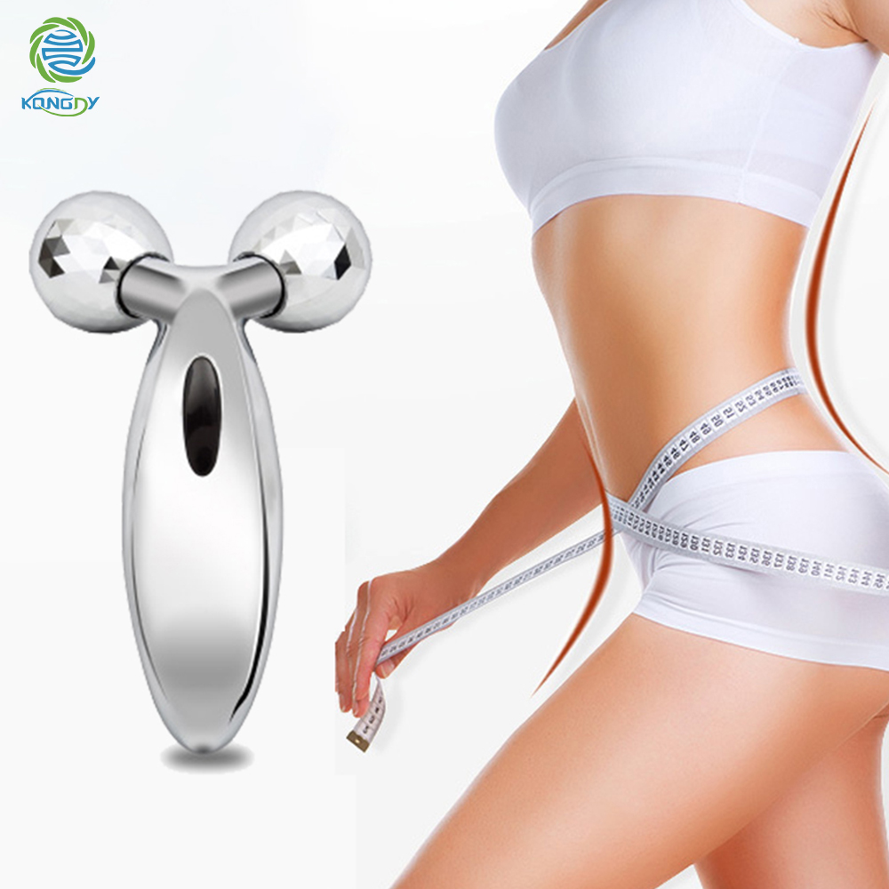 KONGDY 360 Rotate Roller Y Shape 3D Solar Body Massager For V Face Anti-Wrinkle Firming Body Slimming Relaxation Beauty Tool portable facial massager roller flower shape elastic anti wrinkle face lift slimming face face shaper relaxation beauty tools