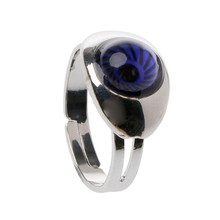 Magic Eye Shape Color Change Mood Ring Emotion Feeling Temperature Rings Women(China)
