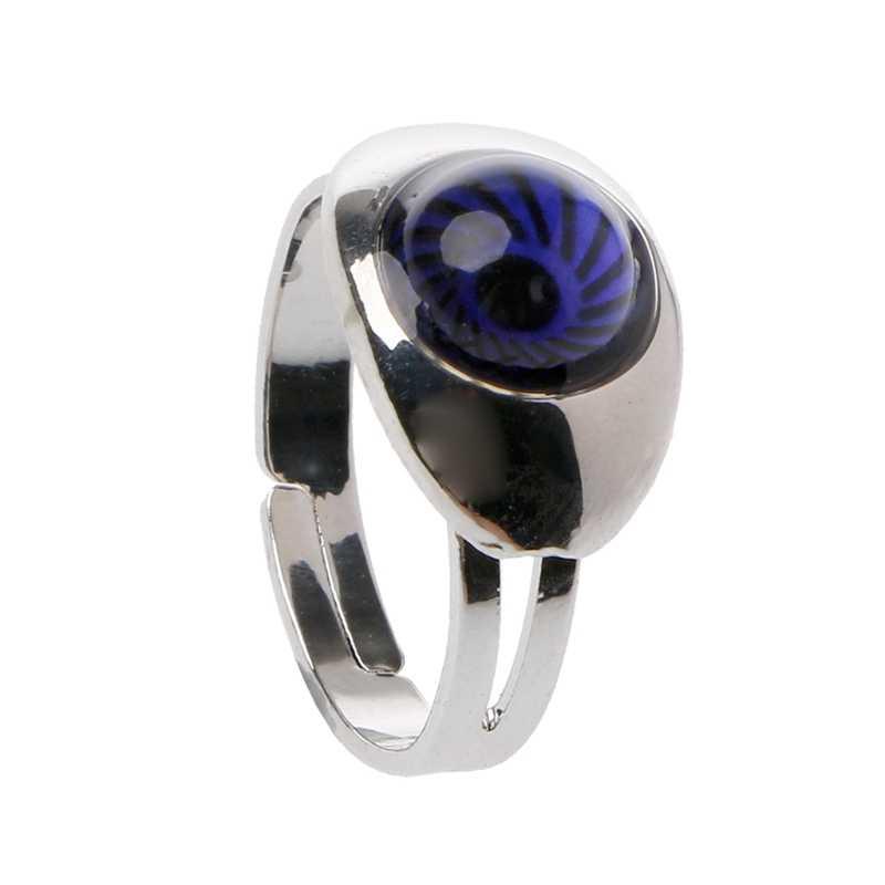 Magic Eye Vorm Kleur Veranderen Stemming Ring Emotie Gevoel Temperatuur Ringen Vrouwen