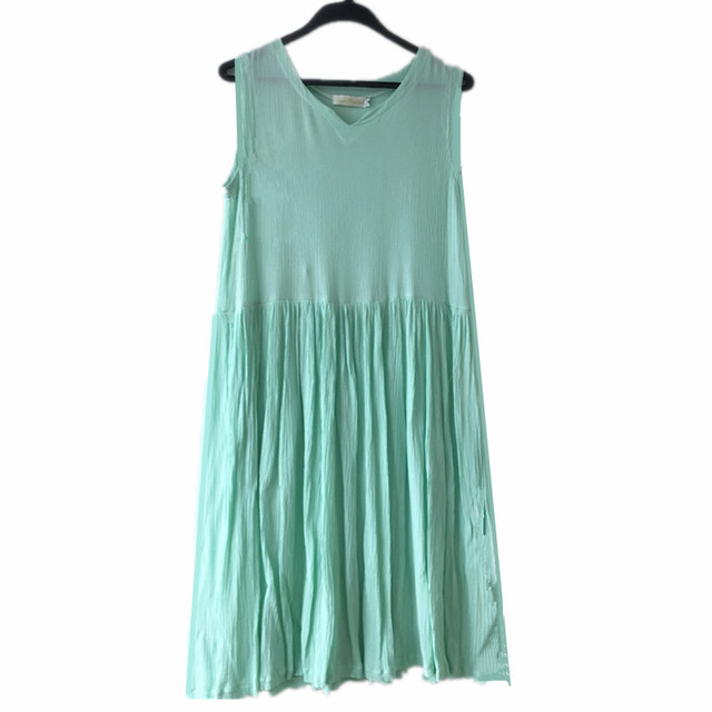 New Summer women cotton linen dress,candy color cute V-neck girl dresses, Plus size S-6XL linen dress Vestidos