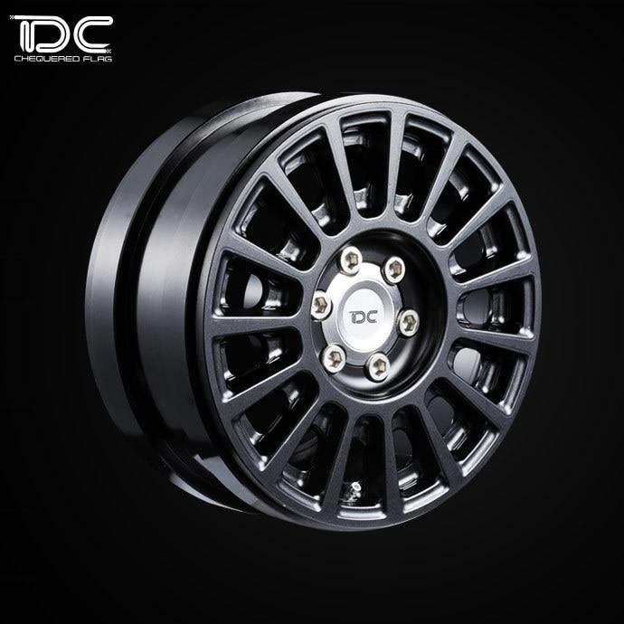 2.2inch High quality 6061 alloy CNC wheel Rim For 1/10 RC Crawler Car Traxxas TRX4 Ford Bronco RC4WD D90 Axial Scx10 90046