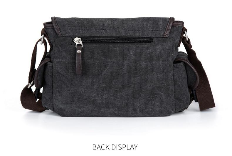 HTB1cGadVhnaK1RjSZFBq6AW7VXaS Vintage Men's Briefcases Shoulder Bag Travel Crossbody Bags Causal Canvas Messenger Bag Patchwork Multi-function Laptop XA237ZC