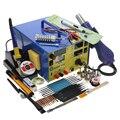 KADA 903D 909D 909D + паяльная станция горячего воздуха с регулируемым блоком питания 3 в 1 многофункциональная паяльная станция 15 в 2A