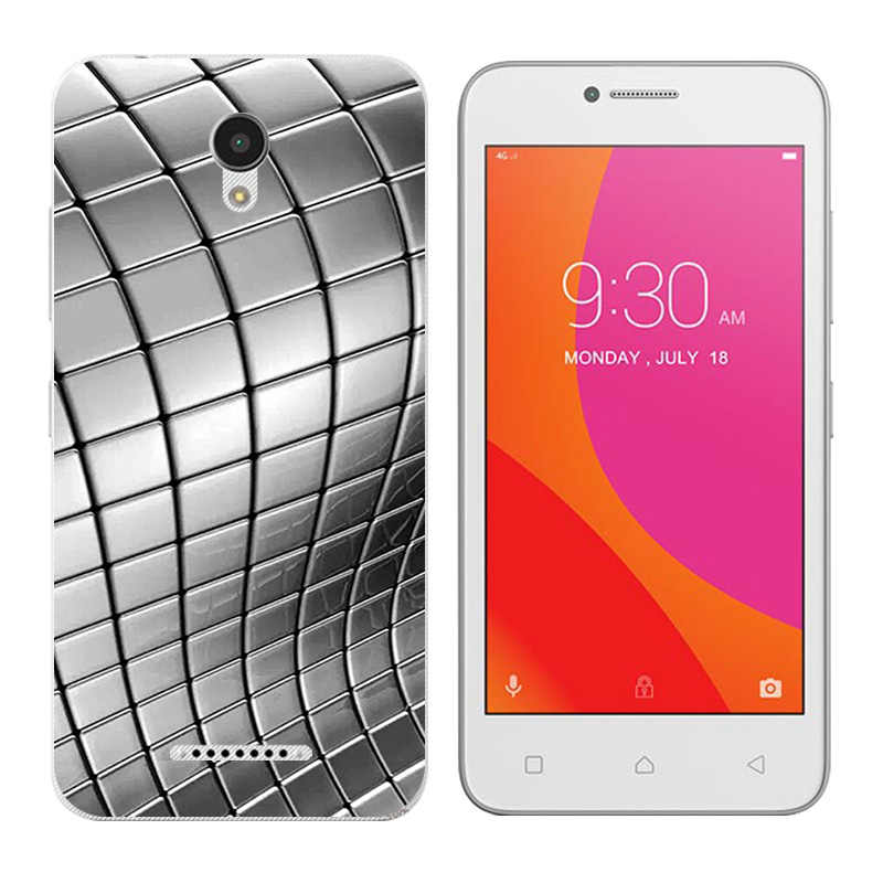 Para Lenovo Vibe B A2016 A1010 A20 un Plus APlus A1010a20 A2016A40 triángulo impresión teléfono casos cubierta de silicona para A1010