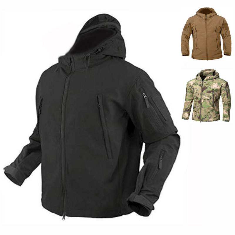 Shark Skin Softshell TAD Jacket Or Pants Military Tactical Sets Outdoor Suits Waterproof Windproof Camouflage Hunting Clothing