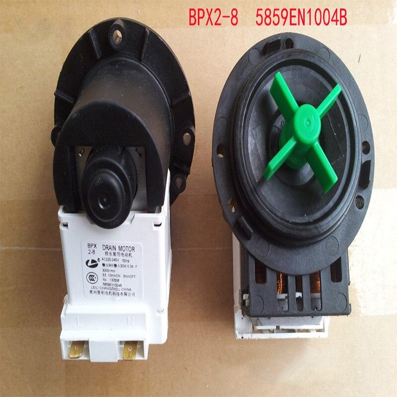 1 unidades LG lavadora de tambor accesorios BPX2-8 BPX2-7 BPX2-111 BPX2-112 AC220-240V 50Hz 30 W bomba de drenaje motor trabajo así