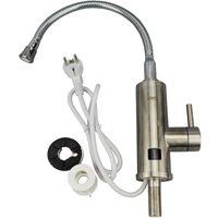 Stainless Steel Instant Heating Faucet With Temp Display Instantaneous Water Heater Kitchen Hot Tap Tankless Heaters