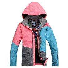 2019 NEW Women ski jacket Windproof Waterproof Breathable snowboard clothes winter coat