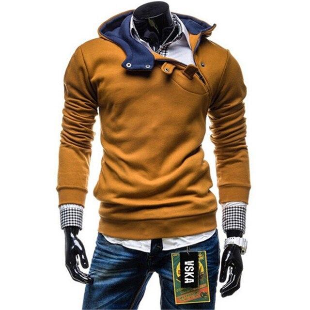 74e003a264 2015 nuevo diseño para hombre Causal hoodies
