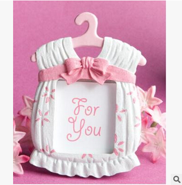 pasayione kawaii dress shaped resin photo frames baby birthday baby shower christen party giveaway gift birthday favors souvenir