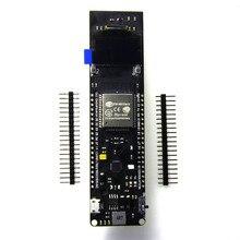 0,96 дюймов OLED WiFi Bluetooth ESP32 макетная плата 18650 чехол для зарядки аккумулятора