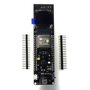 Image 1 - 0.96 cala OLED WiFi Bluetooth ESP32 płytka rozwojowa 18650 obudowa baterii ładującej