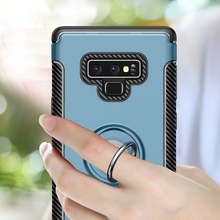 For Samsung Galaxy Note9 Case Car Holder Finger Ring Stand Anti Slip Back Cover sFor Samsung Note 9 Case S8 S9 Plus Note8 S 8 9 s style anti slip protective tpu back case for samsung galaxy young s6310 black