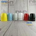O envio gratuito de 6 unidades de iluminação E27 soquete DIY luminária industrial parte retro 100% suporte da lâmpada de cerâmica de alta qualidade