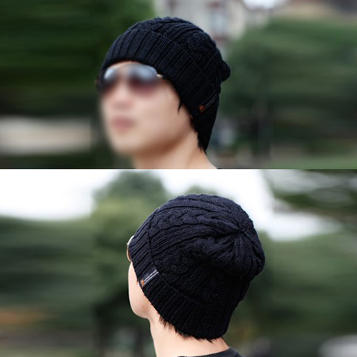 0fd3fc60d56 ZIYI Man Beanies Crochet Hats Warm Wool Knit Hat Turban Knitted Hat-in  Skullies   Beanies from Apparel Accessories on Aliexpress.com