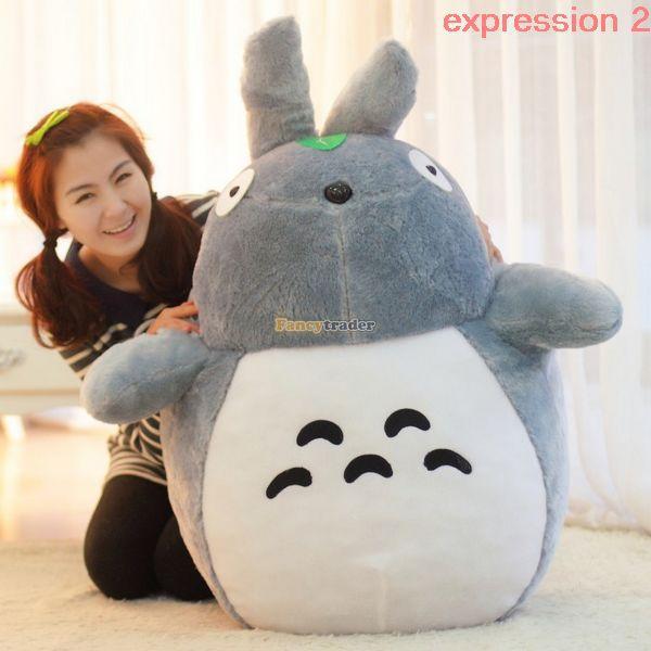 Fancytrader Biggest Totoro Plush Toy 140cm Soft Giant Stuffed Cat