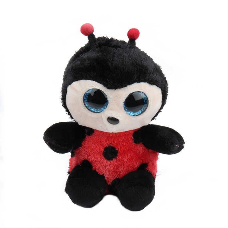"""Ty Beanie милый пингвин бус большие глаза 6 """"плюшевый кролик обезьяна с сверкающими блестками игрушки животных Дети Рождественские подарки девушки"""