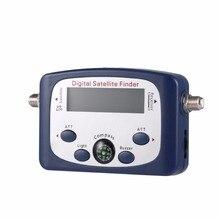 Portable Digital LCD Satellite Finder Signal Strength Meter Satellite Signal Searcher TV Satellite Detector Tool