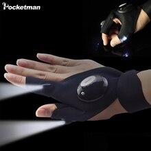 Repairing Finger Light LED Glove Flashlight Torch for Campin