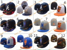 full Closed Arizona Diamondbacks/ Kansas City Royals/San Francisco Giants fitted hat sport team high quality baseball caps