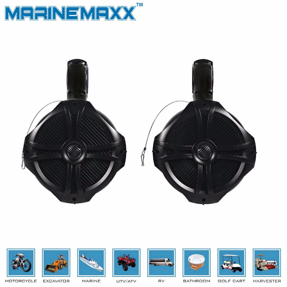 compare prices on 6 5 waterproof speakers online shopping buy low car styling waterproof speaker wakeboard tower speakers for boat off road atv utv rzr