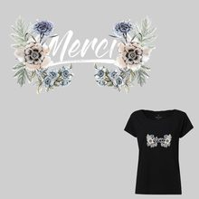 New Fashion Applique On Clothes Flower DIY  Washable Girl T-shirt  Iron On Patches For Clothing Decoration Heat Transfer Y-203 цена и фото